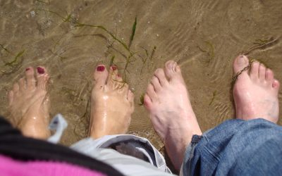 These feet were made for walking…..